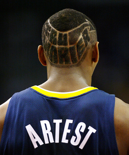 RON ARTEST'S HAIR