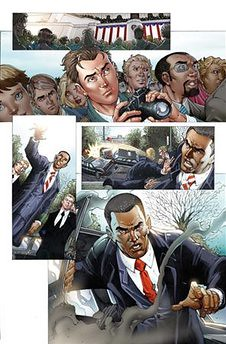 obama y spider-man en los cómics (2) por ti.
