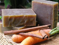 Carrot & Honey Spice Soap