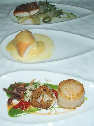 Seafood Trio at Michael Mina, MyLastBite.com