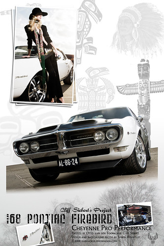 Cliff's 68 Firebird Poster
