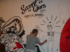 Secret Wars at Village Underground, London 01