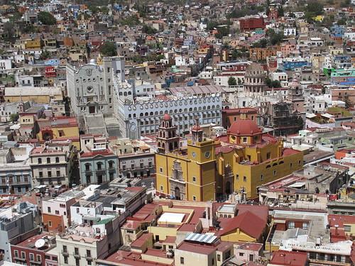 Basilica & University in Guanajuato