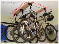 DIY BLOG: Installing a ceiling mount Bike Lift.