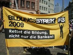 Bildungsstreik 2009 Frankfurt (01)