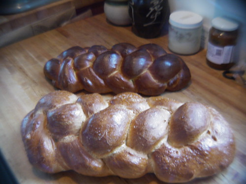 Challah - Twin sons of different mothers