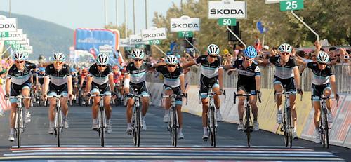 Tyler Farrar - Giro d'Italia, stage 4 by Team Garmin-Cervélo