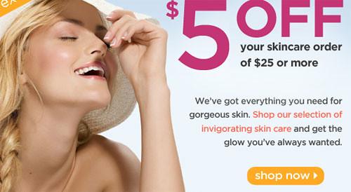 Drugstore.com coupon for Skin Care
