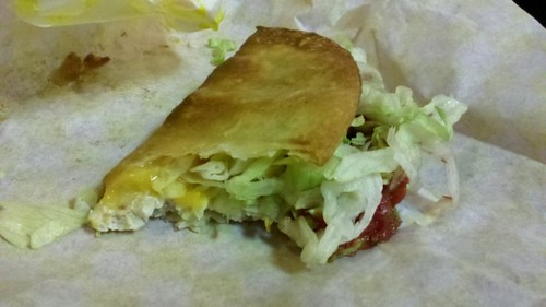 chicken alaskan taco bited