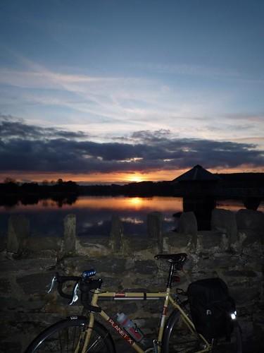 cropston commute sunset
