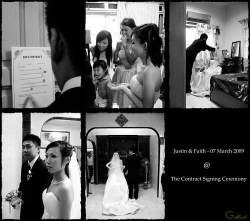 Justin's wedding