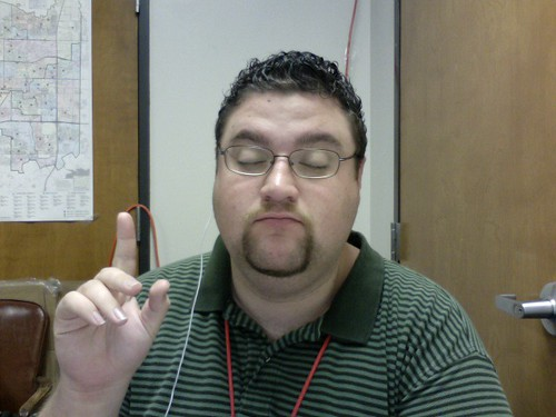 Apparently, listening to Jacqueline DuPre makes me look special...