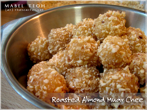 Roasted almond muar chee