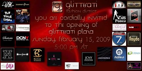 glitterati grand opening