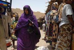 Timbuktu Main Market, Mali, W. Africa