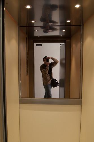 Autoretrato ascensoril