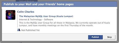 Facebook | Edit The Malaysian MySQL User Group (Kuala Lumpur)