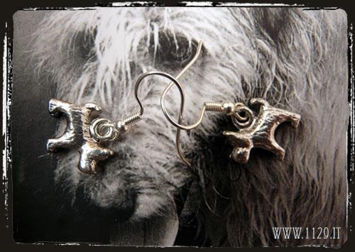 Orecchini cane - Dog earrings IEDOG