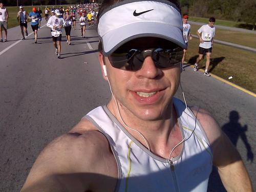 Mile 20 of the 2009 Disney Marathon!