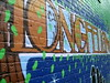 Longfellow, mural outside the vintage Riverview Theater, Minneapolis, Minnesota, August 2007, photo © 2007-2009 by QuoinMonkey. All rights reserved.
