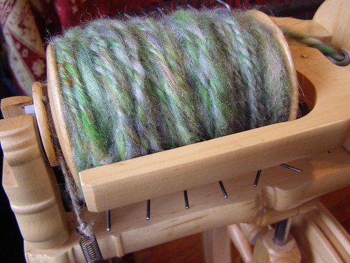 fuzzy woolen spun