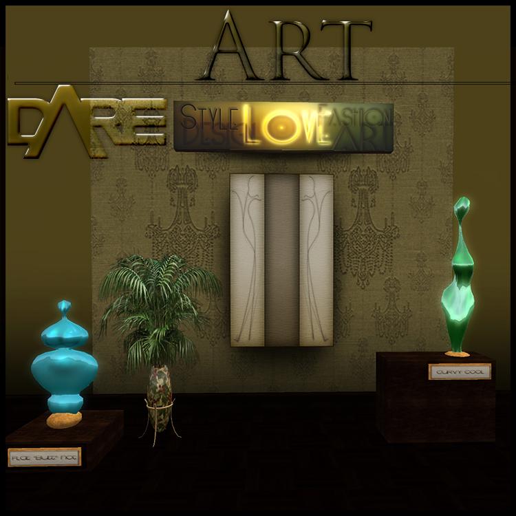 DARE store Interior Art wall