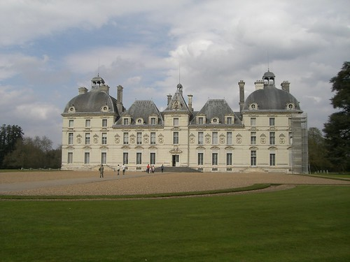 One of the MANY Chateux we visited! (Cheverny, Loire Valley)