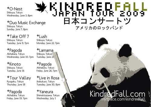 Kindred Fall Japan tour