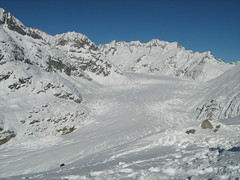 Aletsch Glacier-Swiss Alps