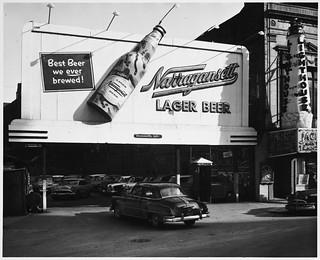 Symbols - Daytime, bottle - Narragansett Lager...