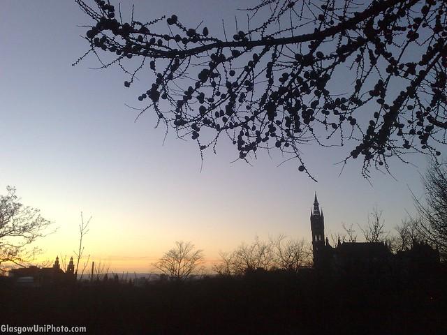 Sunset Spires