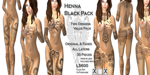[HUZ]-Henna Black Pack-Advert