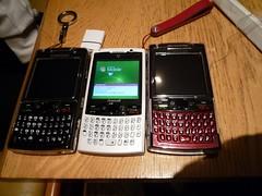 SAMSUNG i780 3 colors