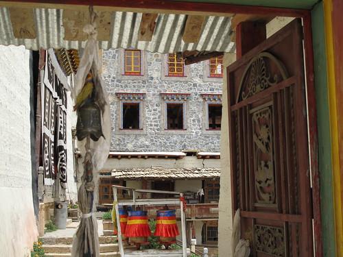 Tibetan Monastery in Shangri-la