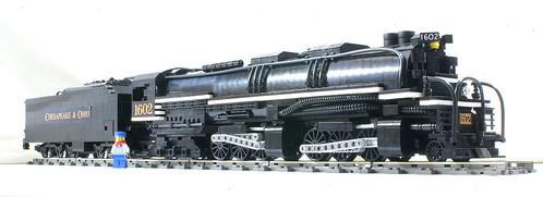 LEGO Allegheny H8 locomotive