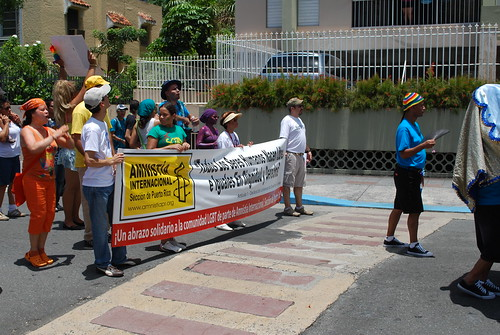 Amnesty at the parade