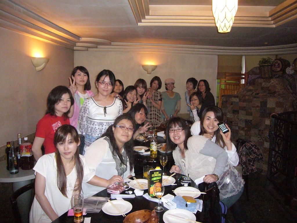 TokyoGirlGeekDinners 1st meeting