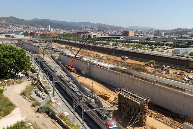 Zona Estació de Sant Andreu - Norte - 18-05-11