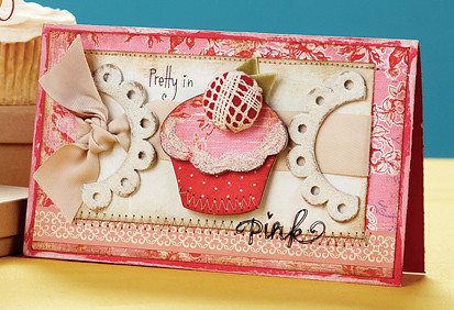 Melissa Phillips Pretty in Pink Card from CC7