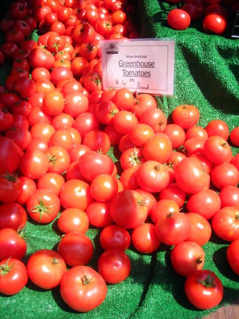 Jersey beefsteak tomatoes
