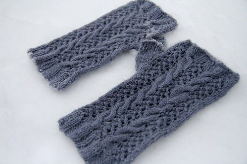 Merletto mitts