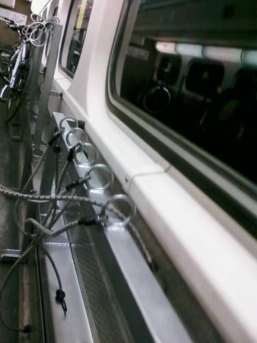 Caltrain new bike rack