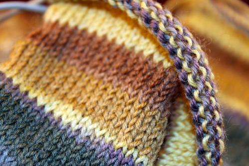 Sock-Knitting
