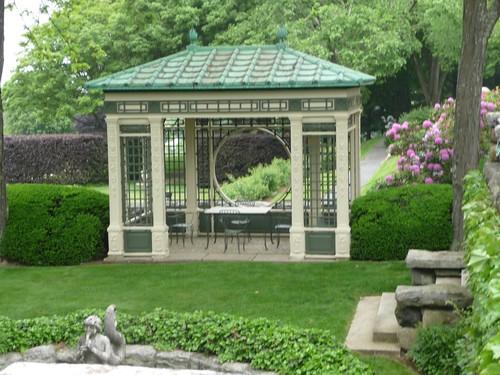 Pergola in Rose Garden