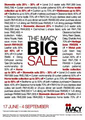 The Macy Big Sale