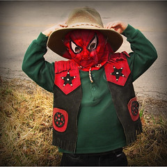 Spider Cowboy Man Matthew