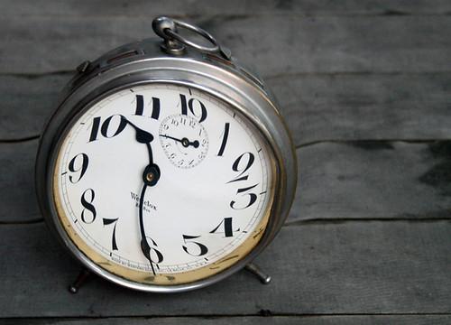 twirly clock