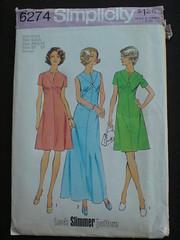 A cute vintage dress pattern