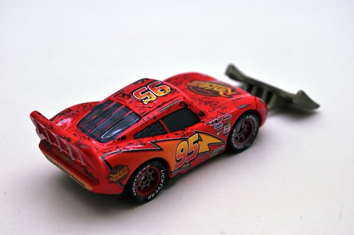 disney cars lightning mcqueen with shovel (5)