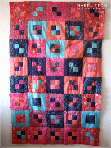Quilt #3 in progress